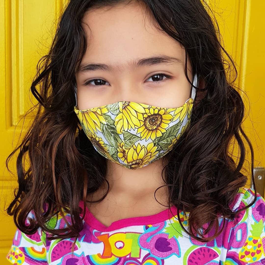 Máscaras infantis