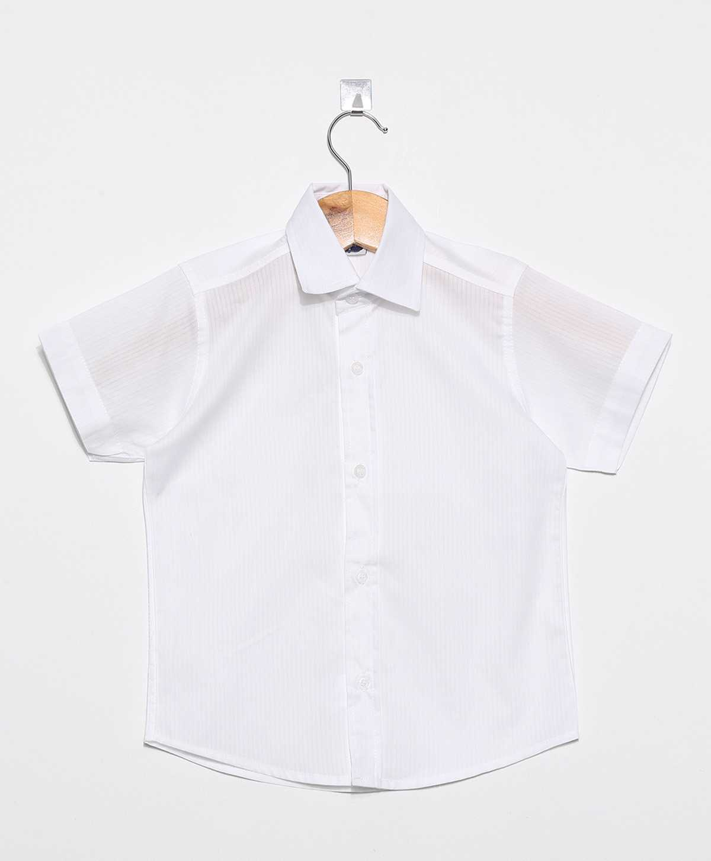 Camisa Social infantil Masculina manga Curta Cataguase