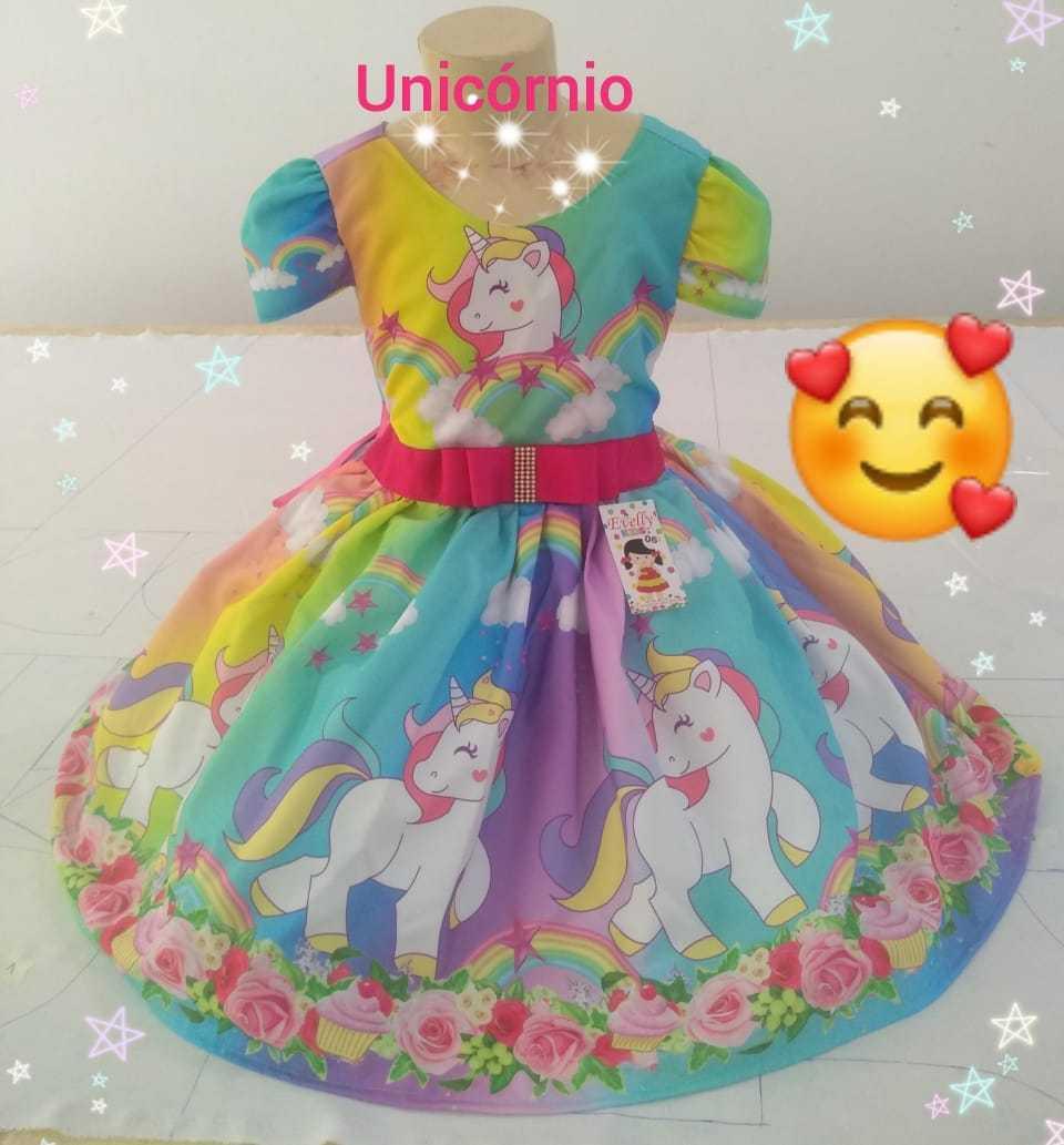 Vestidos infantis Temáticos