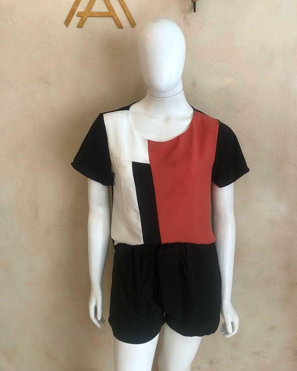blusa e short