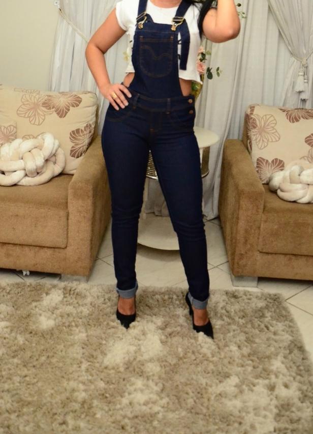 Macacões jeans com lycra