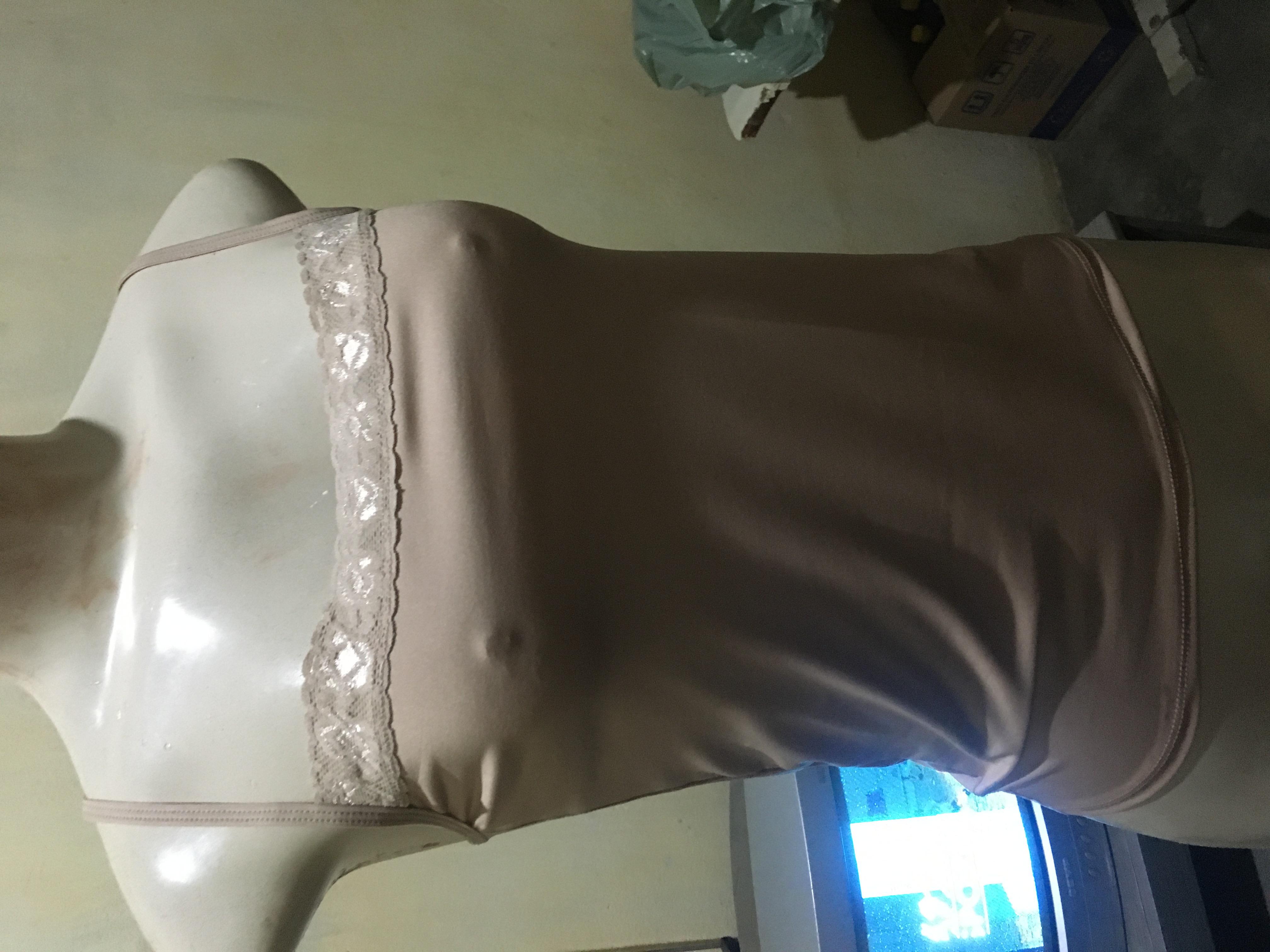 Blusa segunda pele com rendinha