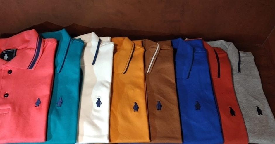 Camisas polo Pinguim Store malha suedine