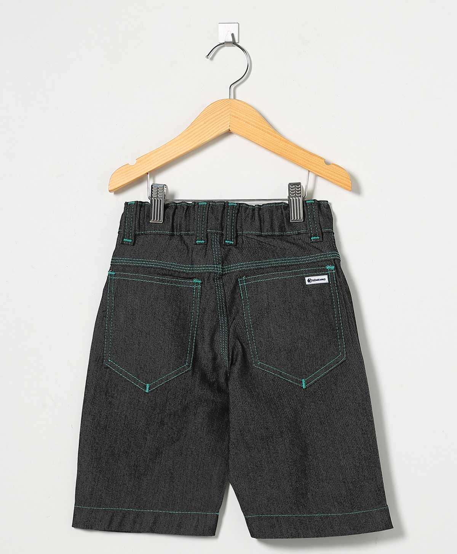 Bermuda Jeans Pesponto verde