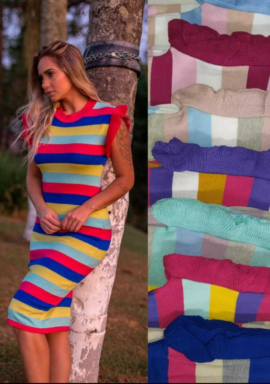 Vestidos tricot modal