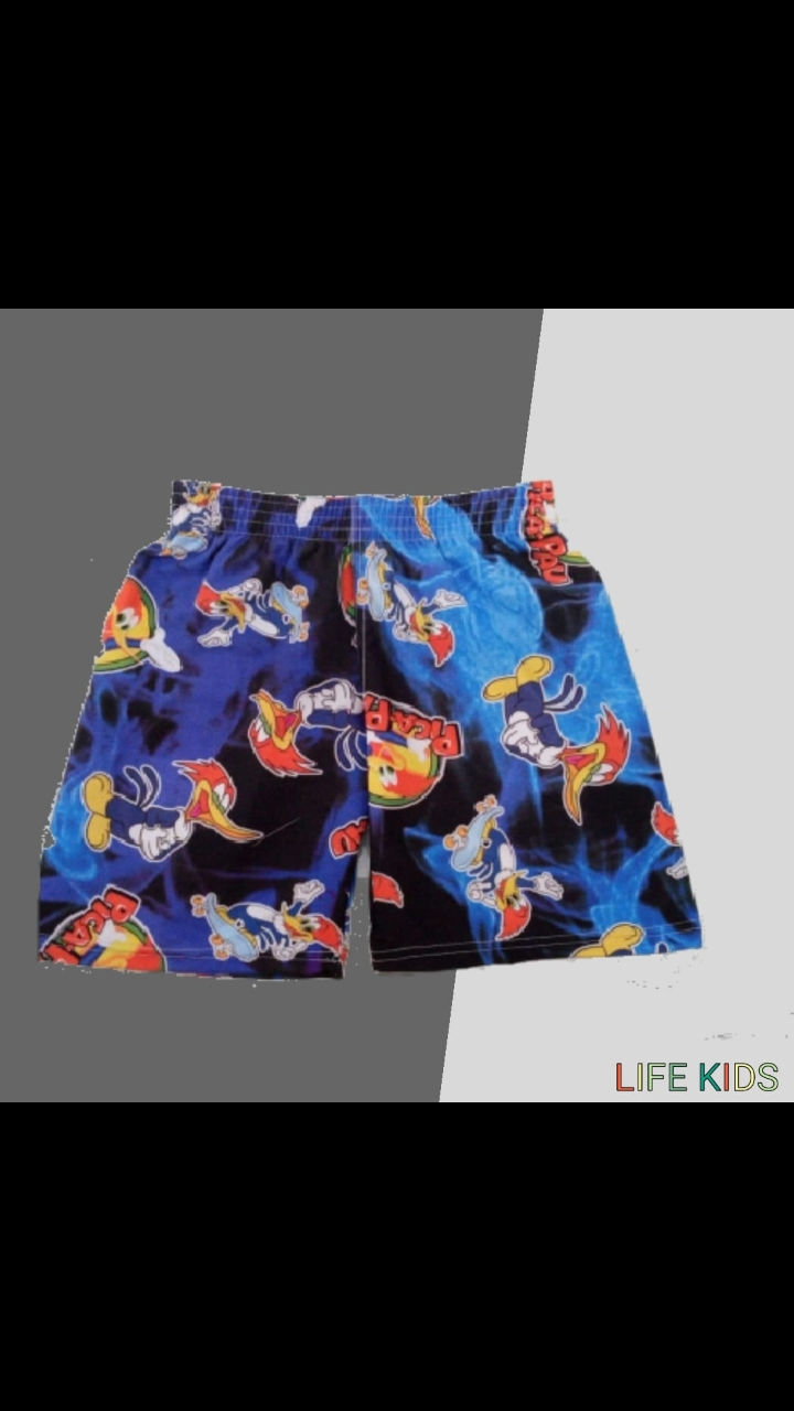Short tactel infantil