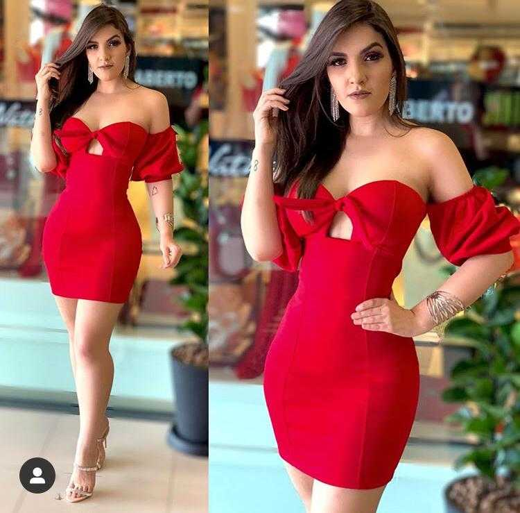 Vestido modelo Cigana