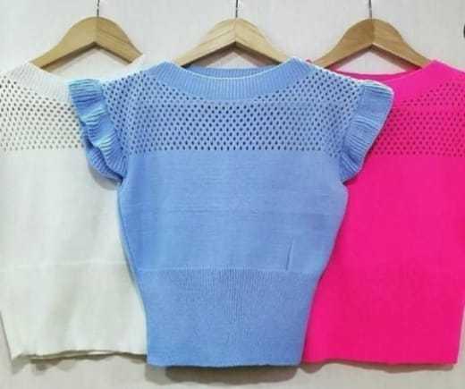 Blusas tricot
