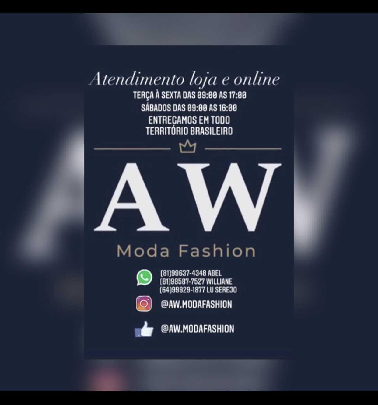 AW moda fashion