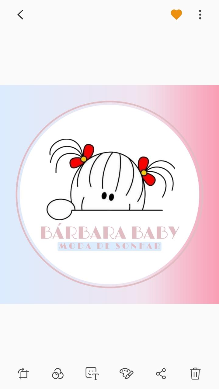 Bárbara Baby Moda de Sonhar